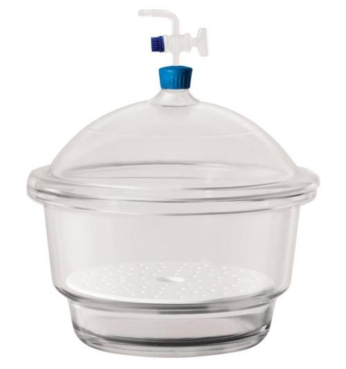 Borosil® Desiccators, Vacuum, 100mm (X-Small), 1/EA