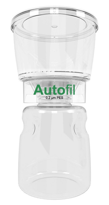Autofil® 500 ml 0.2 μm  Bottle Top Filter PES, Full Assembly 12/Case