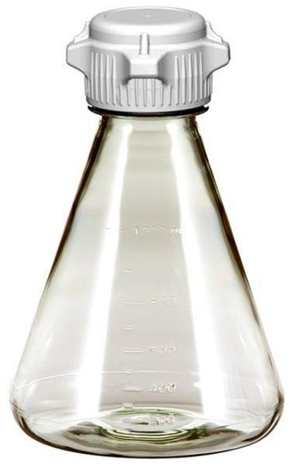 6/case 1L EZclear® Erlenmeyer Flask w/ 53mm VersaCap®, Sterile