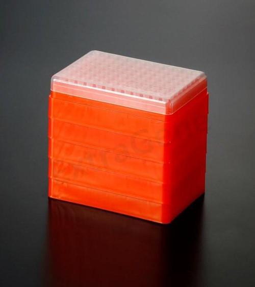Extragene 10ul (Refill) Universal Pipette Tips, Stack Racks, Sterile, DNase / RNase & Pyrogen Safe, Clear Pk x 96 tips/rack, 5 racks (for TS-10-RS)