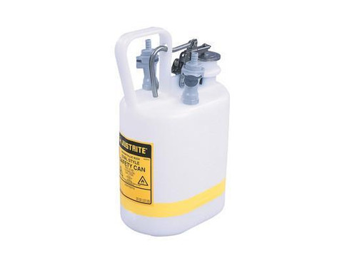 "Oval Quick-Disconnect Disposal Can, polypropylene fittings for 3/8"" tubing, 1 gallon, poly"