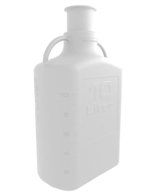 """10L (2.5 Gal) PP Carboy with 3"""" Sanitary Top"""