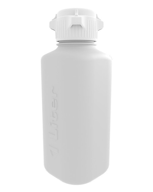 Brewtainers 1L HDPE Homebrew Yeast Container with Polypropylene 53 mm Cap, 1000 mL Capacity
