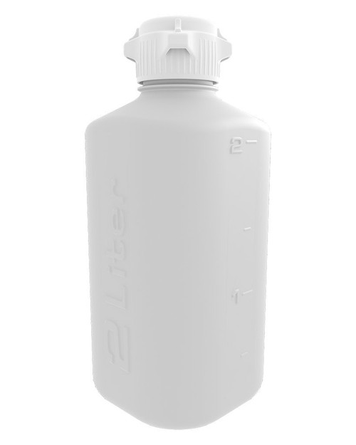 Brewtainers 2L HDPE Homebrew Yeast Container, with Polypropylene 53 mm Cap, 2000 mL Capacity