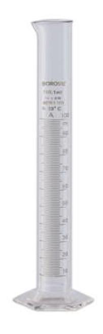 Borosil® Cylinders, Class B, TC, 1,000mL x 10mL, CS/4