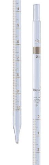 Borosil Graduated Pipette Mohr Class A USP Type I, ISO 835, 1 mL(1*0.1)