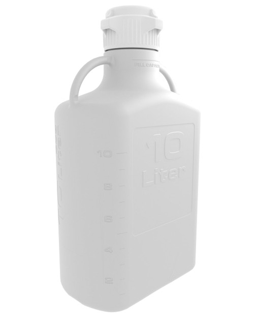 10L (2.5 Gal) HDPE Carboy with 83mm Cap