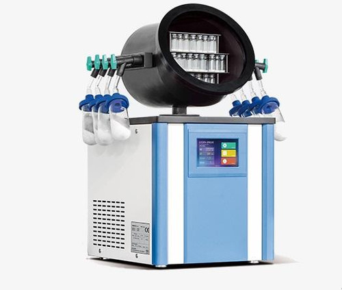 ilShin table Top Freeze Dryer TFD8501 Ice capacity 2 liters Condenser Temp -70 C to -85 C Vacuum Pump 100 LPM 220 Volt