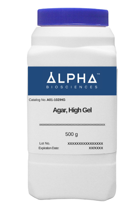 AGAR, High Gel (A01-102IHG)