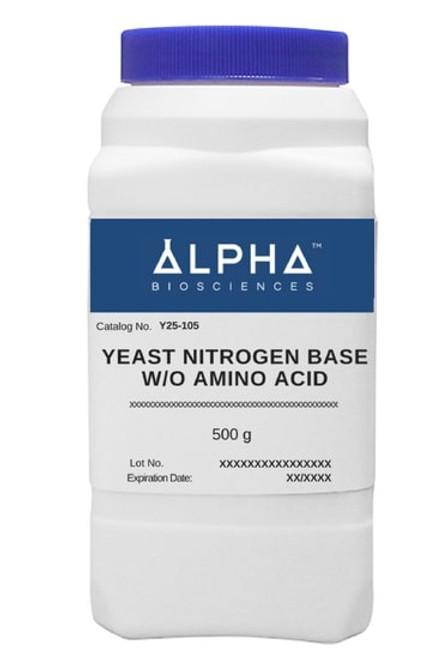 YEAST NITROGEN BASE W/O AMINO ACID (Y25-105)