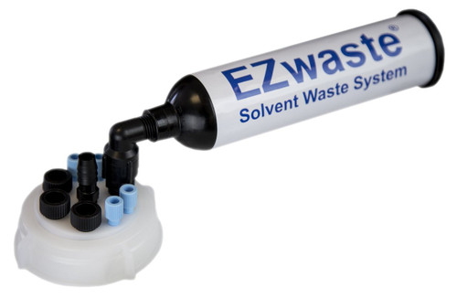 "EZWaste® UN/DOT Filter Kit, VersaCap® S70, 4 ports for 1/8"" OD Tubing, 3 port for 1/4"" OD Tubing, 1 port for 1/4"" HB or 3/8"" HB Adapter"