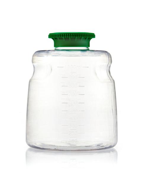 1000ml PETG SECUREgrasp® Media Bottle, Sterile