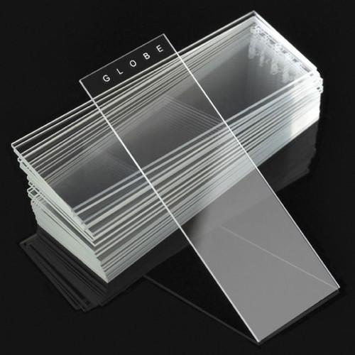 Microscope Slides, Diamond White Glass, 25 x 75mm, 90° Ground Edges, Plain