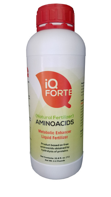 iQFORTE is a great fertilizer and bio stimulant that regulates the plant metabolism in a natural and balanced way