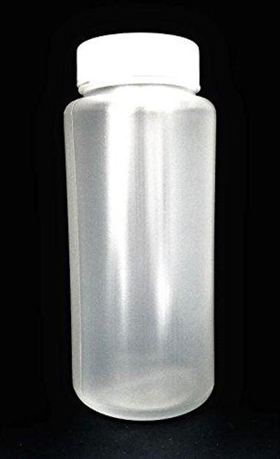 SPL Polypropylene Wide Mouth Reagent Bottle, 500ml Capacity,translucent, PP, Autoclavable Case of 48