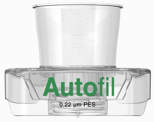 15ml Autofil® Sterile .2 μm High Flow PES Vacuum Filter FUNNEL ONLY, 48/case