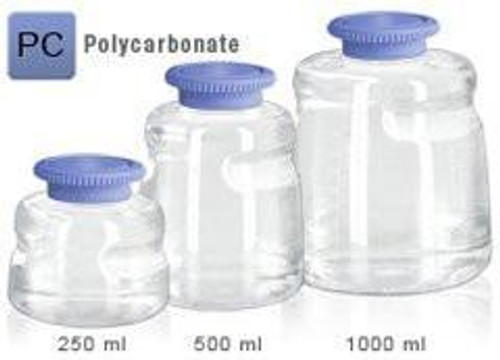 250ml PC SECUREgrasp® Media Bottle, Sterile