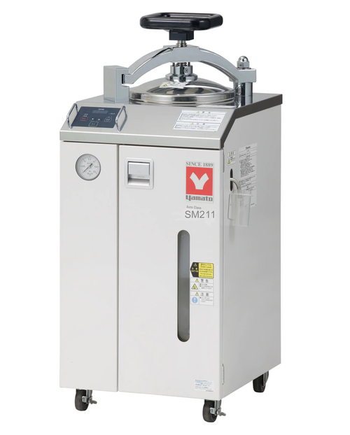 Yamato SM-211 Standard Steam Sterilizer with Dryer 20L 220V