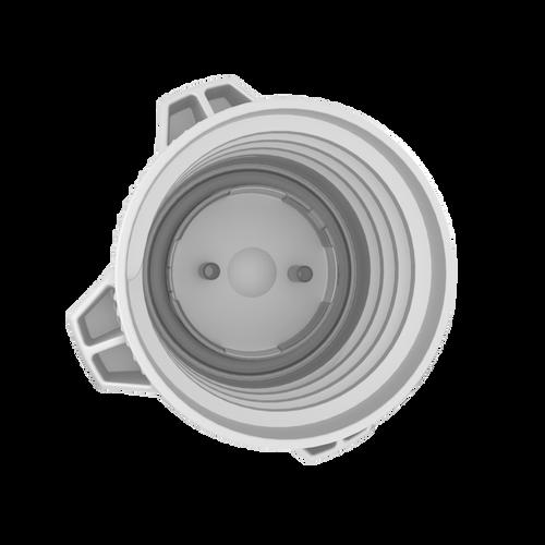 "VersaCap® 83mm, Open, with Molded 1/4"" HB Adapter"