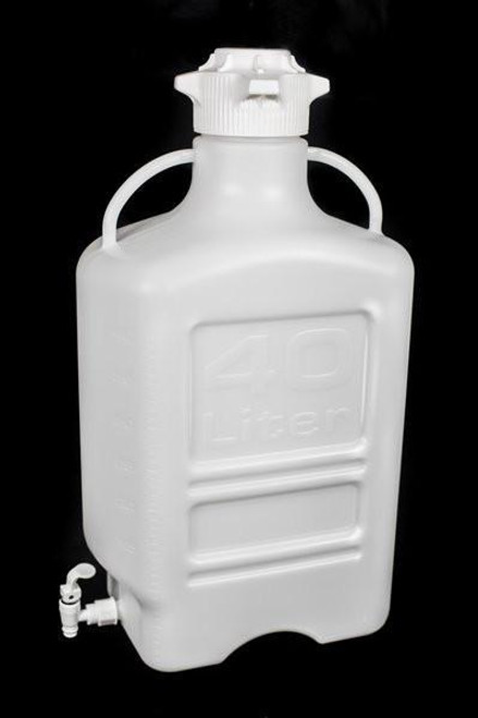 40L (10 Gal) PP Carboy with 120mm Cap and Spigot