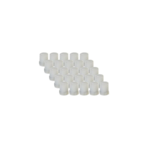 "EZwaste® Replacement 1/4"" MNPT Filter Plugs, 25/pack"