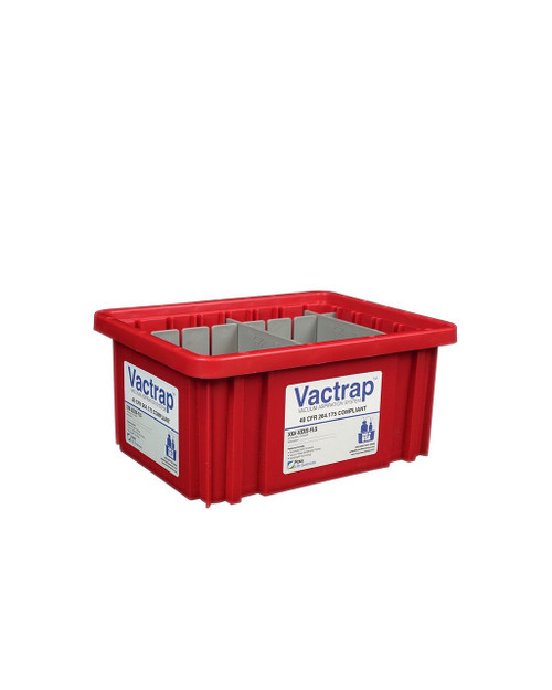Vactrap™, Red Bin w/ Dividers