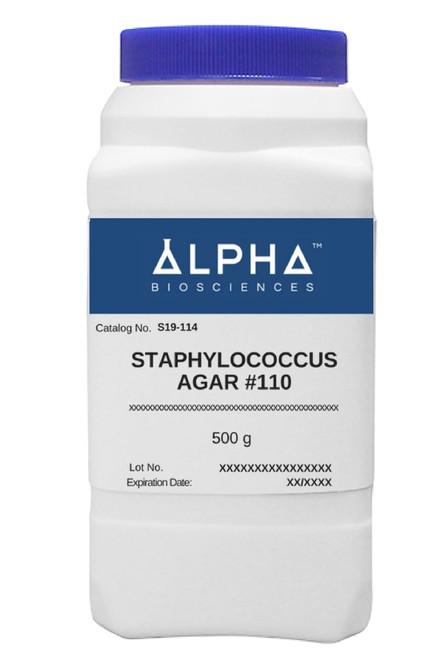 STAPHYLOCOCCUS AGAR #110 (S19-114)