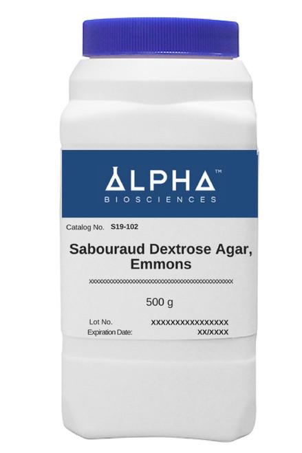 SABOURAUD DEXTROSE AGAR, EMMONS (S19-102)