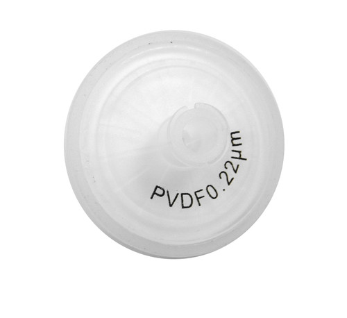 Extragene Hydrophobic PVDF Syringe Filter, 25mm, 0.22μm, Pre-sterilized (Pack of 50)