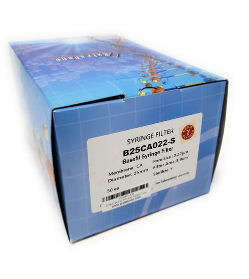 Extragene CA Syringe Filter, 25mm, 0.22μm, Pre-sterilized (Pack of 50)