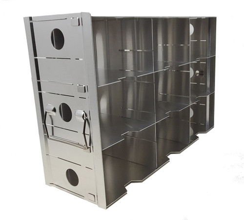 "Aluminium Rack for ULT 9 hole for3"" Box Side Access"