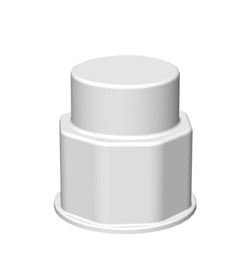 Spigot Fitting, VersaBarb®, 1 1/8 Thread Closed Cap