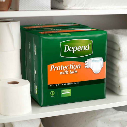 Depend Maximum Protection Briefs with Tabs