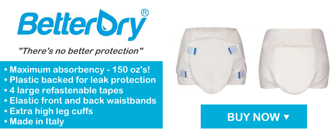 BetterDry Adult Briefs