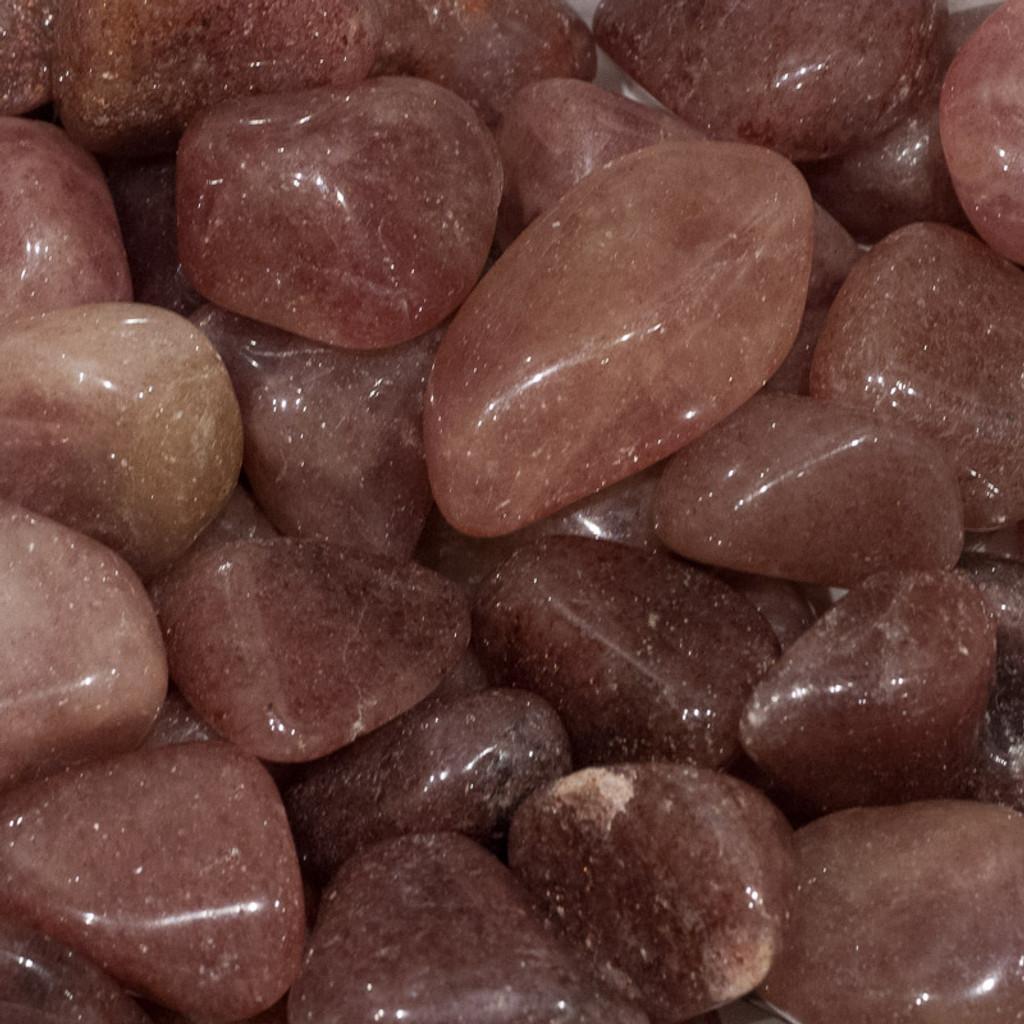 Aventurine, Red Tumbled Stone