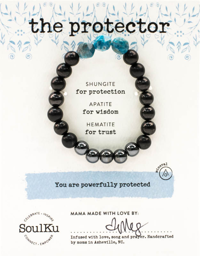 The Shungite Protector Bracelet For Women