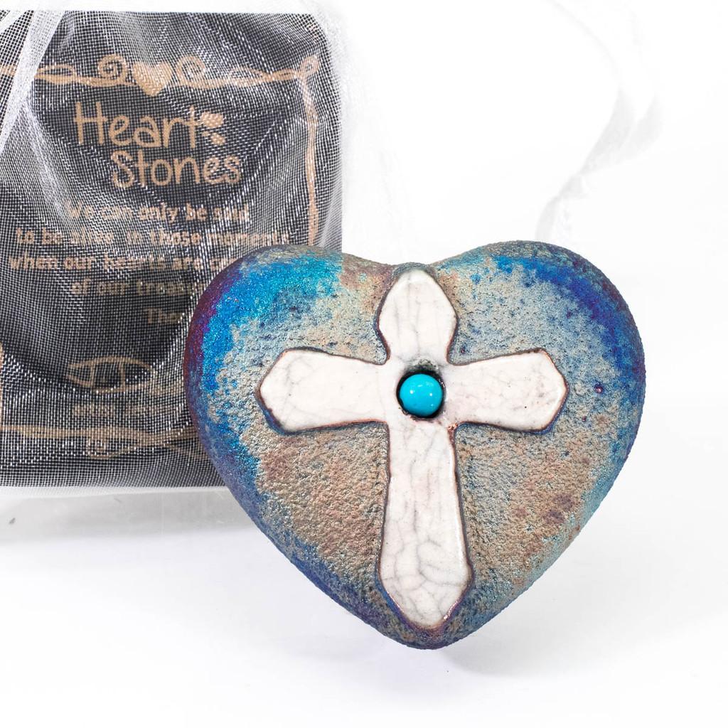 Cross Mini Heart