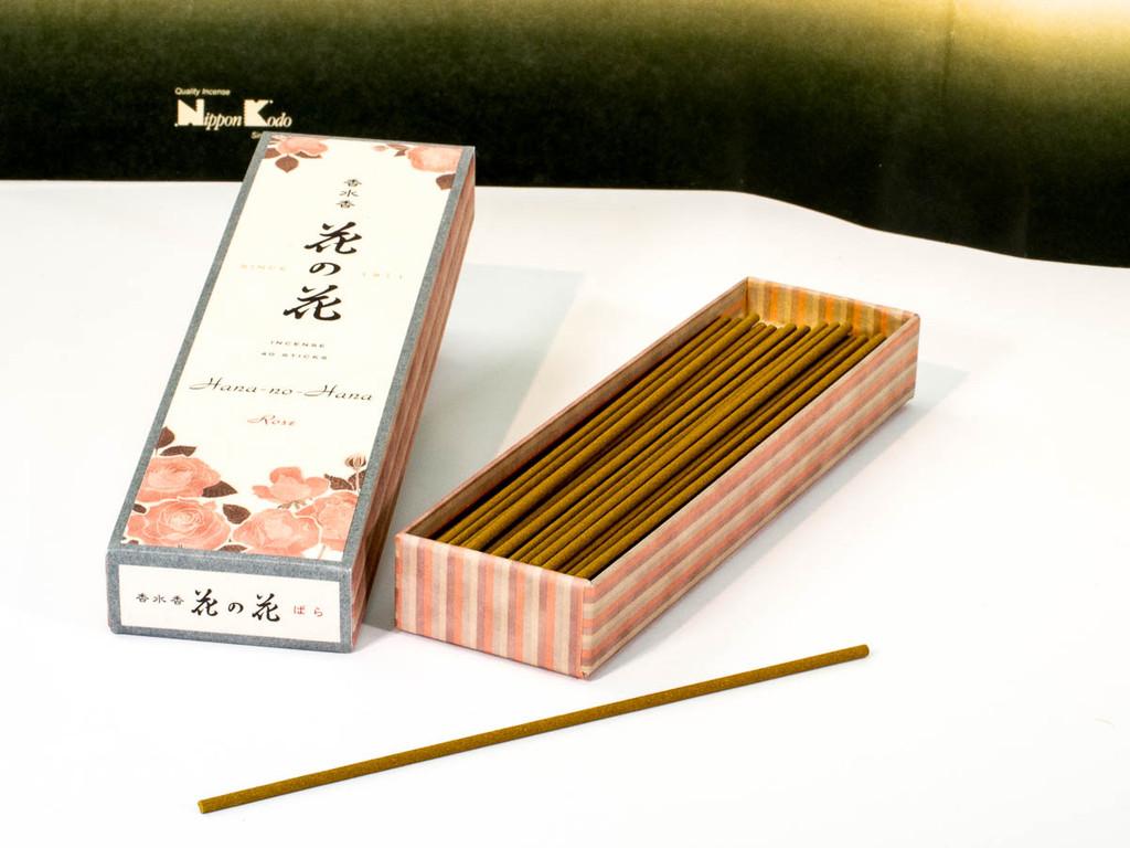 Rose Hana-no-Hana Incense Sticks
