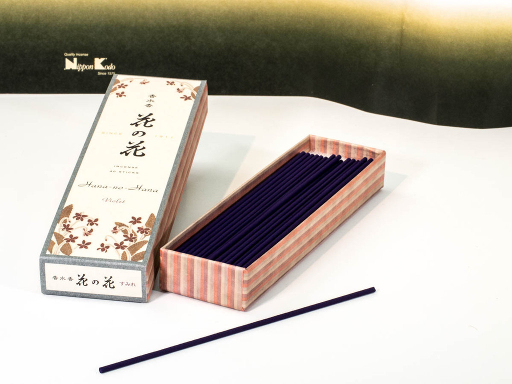 Violet Hana-no-Hana Incense Sticks