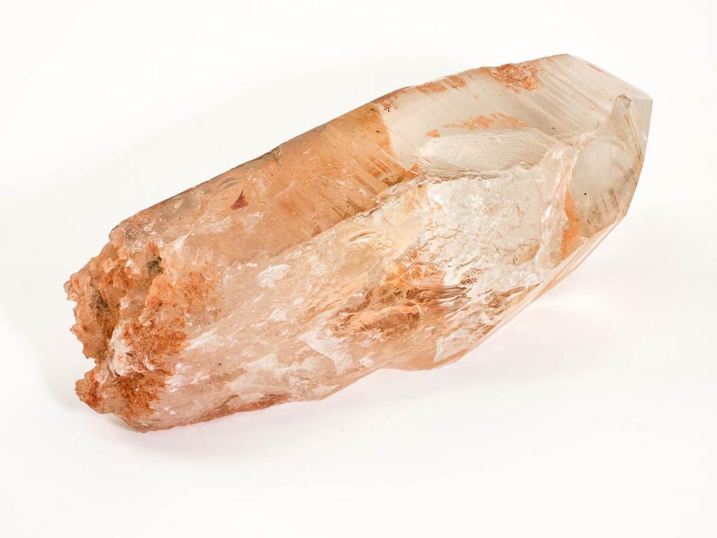 Tangerine Lemurian Seed Crystal