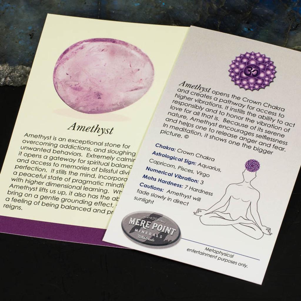 Amethyst Description Card