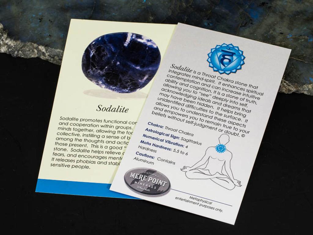 Sodalite Description Card