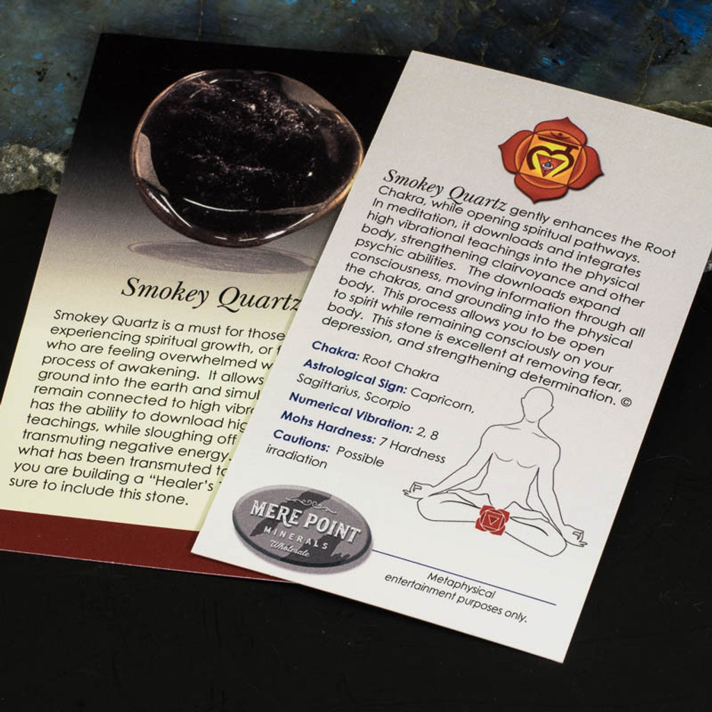 Smokey Quartz Description Card