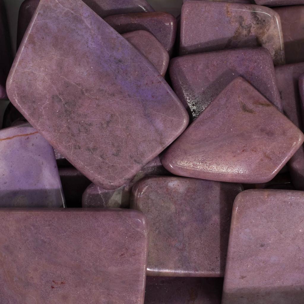 Purple Jade Flat Stones