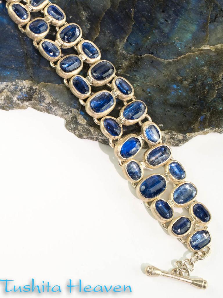 Blue Kyanite Bracelet