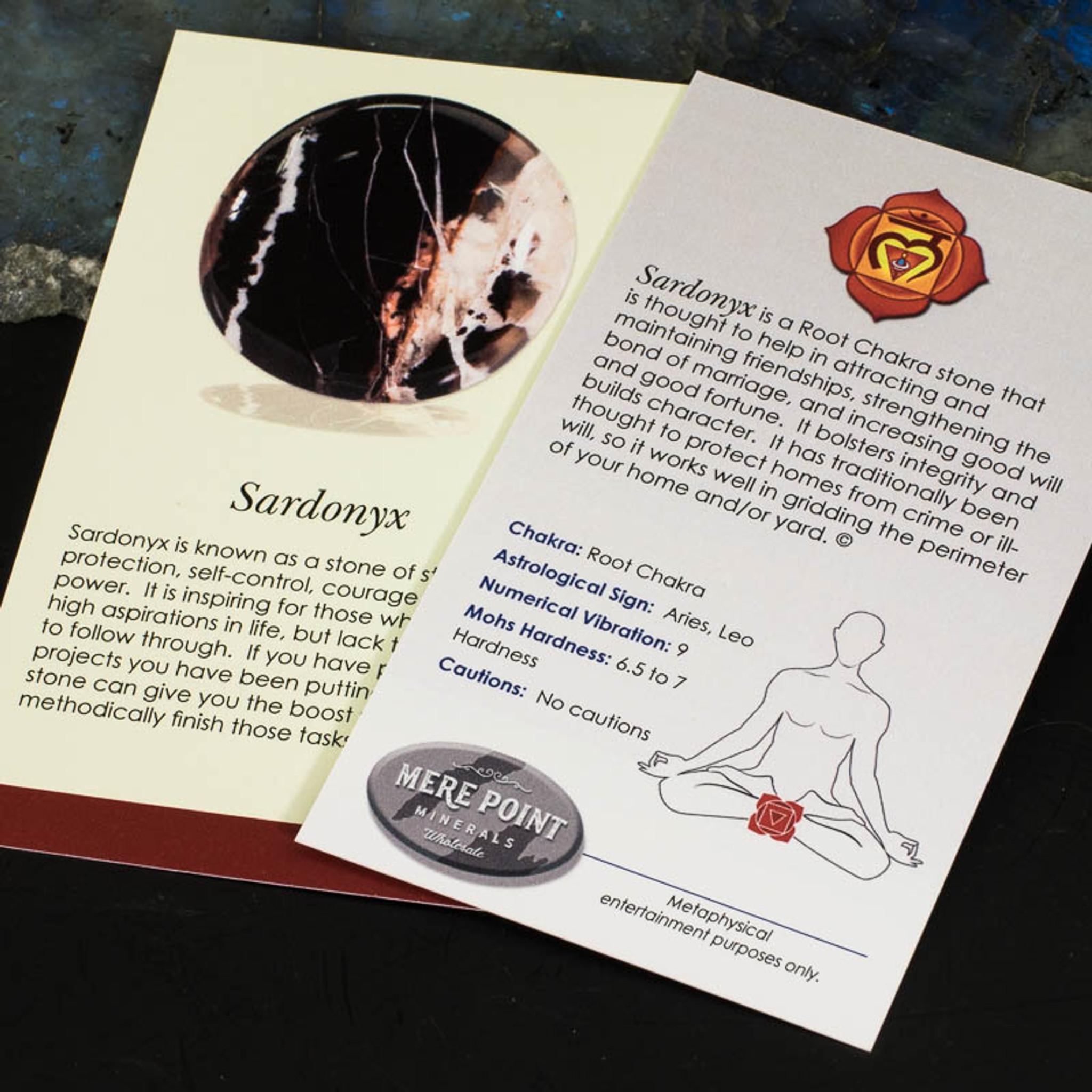 Sardonyx Description Card