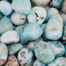 Larimar Tumbled Stone