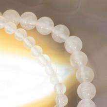 Snow Quartz  gemstone bracelet