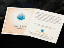 Tiger's Eye Description Card