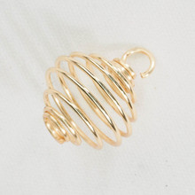 Gold Tumbled cage